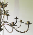 French early 20th c decorative 'Tole' Chandelier circa 1910 - picture 4