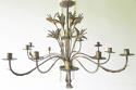 French early 20th c decorative 'Tole' Chandelier circa 1910 - picture 5