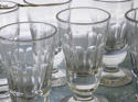 Collection French Absinthe or Wine Glasses circa 1900 - picture 2