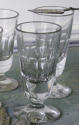 Collection French Absinthe or Wine Glasses circa 1900 - picture 3