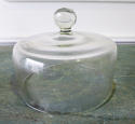 Collection of 19th c French Glass Cheese Bells - picture 3