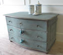 Early 19th c French Blue Commode circa 1820 - picture 2