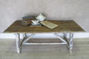 19th century Italian pine TrestleTable with remains of Original Paint - picture 3