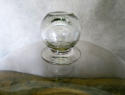 Huge and Rare 19th c glass Cheese Bell - circa 1870 - picture 2