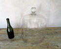 Huge and Rare 19th c glass Cheese Bell - circa 1870 - picture 4