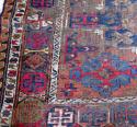 19th c Persian Soumak - worn but beautiful! - picture 1
