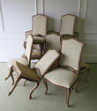 Set of 10 French late 19th c Dining Chairs - picture 2