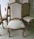 Set of 10 French late 19th c Dining Chairs - picture 3