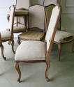 Set of 10 French late 19th c Dining Chairs - picture 4
