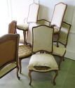 Set of 10 French late 19th c Dining Chairs - picture 6