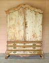 18th century Dutch 2-part Cupboard on Drawers - picture 1