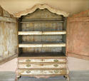 18th century Dutch 2-part Cupboard on Drawers - picture 2
