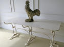 Unusual French Iron Garden Table - circa 1900 - picture 3