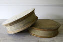 A pair of 19th century French painted wood Plinths - picture 2