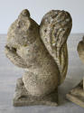 Pair of English Composition Stone Squirrels - circa 1940 - picture 4