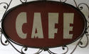 French 'CAFE' sign - charming! circa 1930 - picture 3
