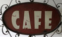 French 'CAFE' sign - charming! circa 1930 - picture 4