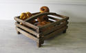 Wooden Slatted French Basket - circa 1940 - picture 3