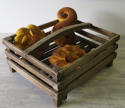 Wooden Slatted French Basket - circa 1940 - picture 4