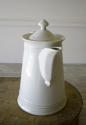 Large French white Porcelain Coffee Pot - picture 2