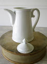 Large French white Porcelain Coffee Pot - picture 3