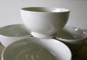 Set of 4 small white Porcelain Bowls French circa 1930 - picture 3