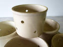 Set of 5 French Cheese Draining Pots circa 1900 - picture 3