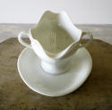 19th century French white Porcelain Sauce Boat - picture 2