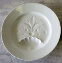 Two charming French white Porcelain Asparagus Plates 19th c - picture 2