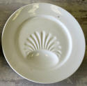 Two charming French white Porcelain Asparagus Plates 19th c - picture 3