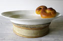 Very Large French 19th c White Porcelain Servery Platter - picture 1