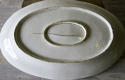 Very Large French 19th c White Porcelain Servery Platter - picture 2
