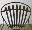Single Iron sprung arm chair with footstool circa 1880 - picture 3