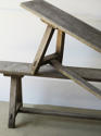 Pair of 19th c English Oak Benches - picture 3