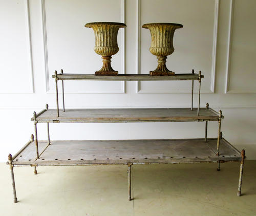 French 19th c 3-Tier Plant Stand - Circa 1870