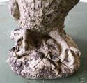 Small English composition stone Owl - circa 1920 - picture 3