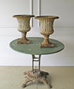 A Pair of 19th c English Cast Iron Campana Urns - circa 1840 - picture 6