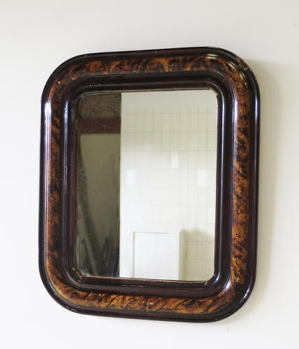 Small French Louis Philippe Mirror - circa 1840