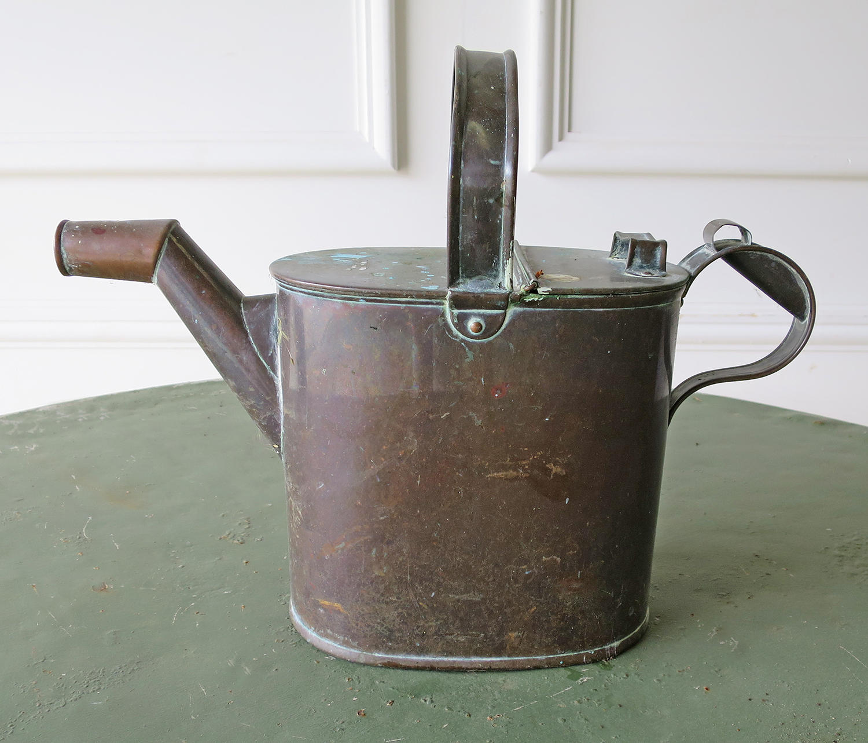 Small English copper Watering Can - circa 1890
