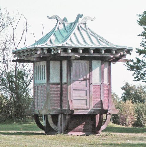 Rare 19th c Chinese Tea House - circa 1890