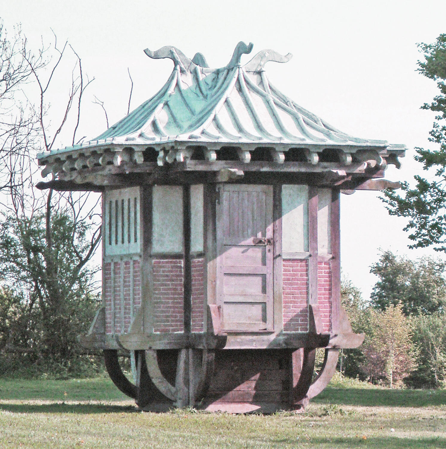 Rare 19th c Chinese Tea House - circa 1890