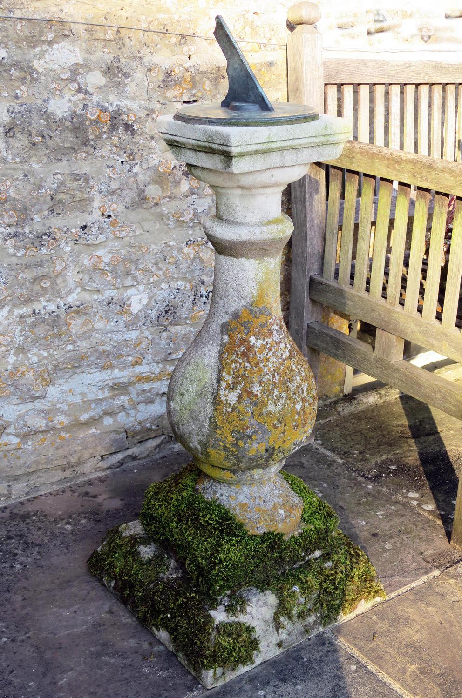 18th c Portland Stone Sundial - circa 1790