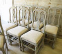 Set of 8 Swedish Country Dining Chairs - picture 2