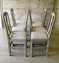 Set of 8 Swedish Country Dining Chairs - picture 4