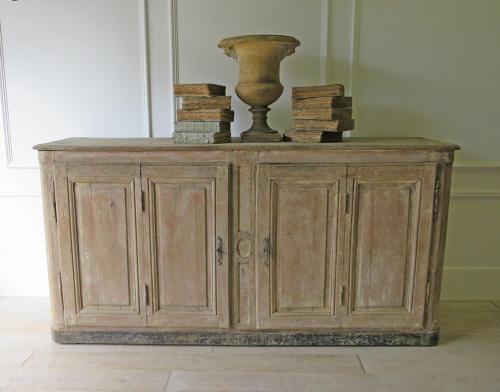 Long 18th c French Oak Enfilade circa 1780