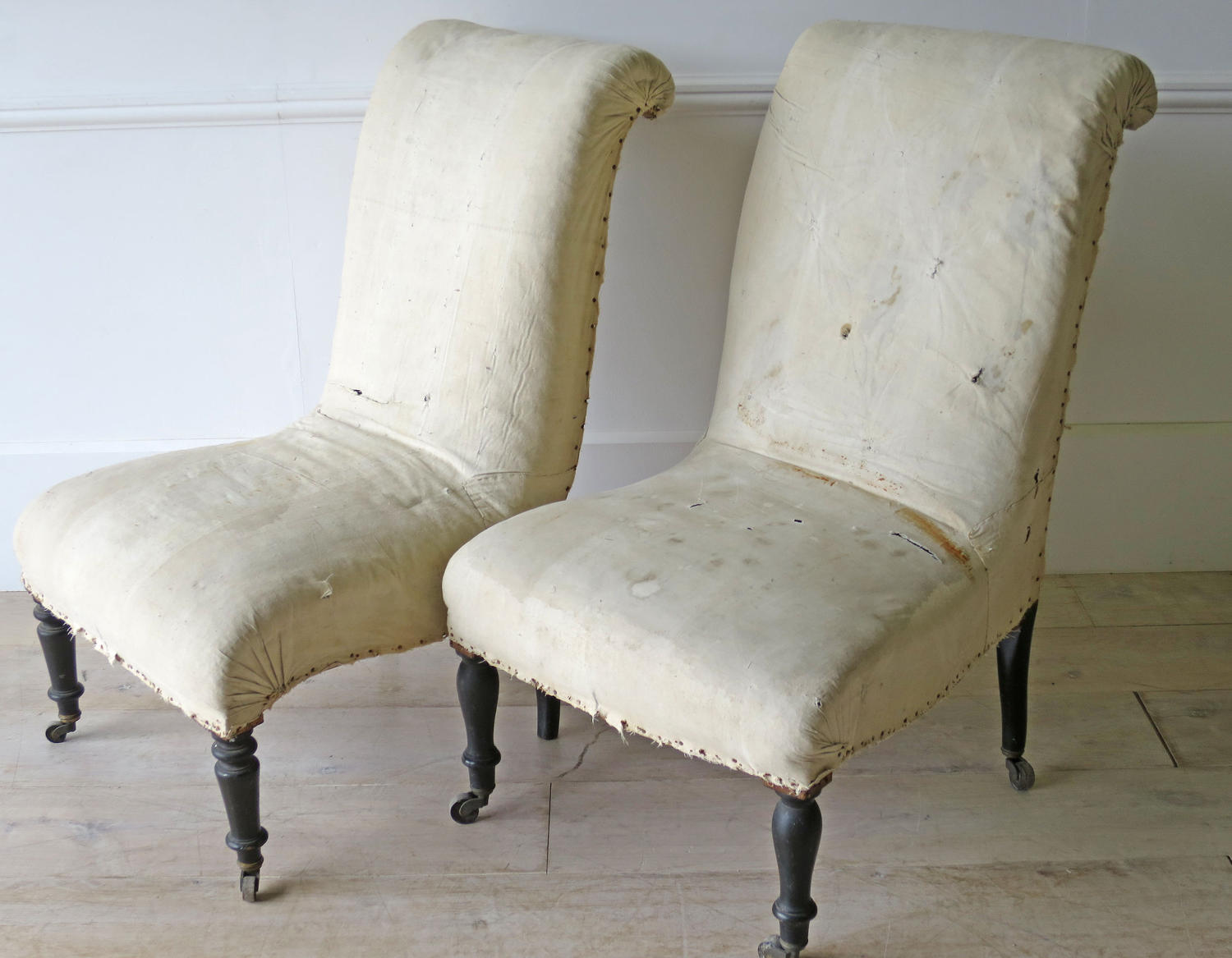 Two small Franch Napoleon III Chairs