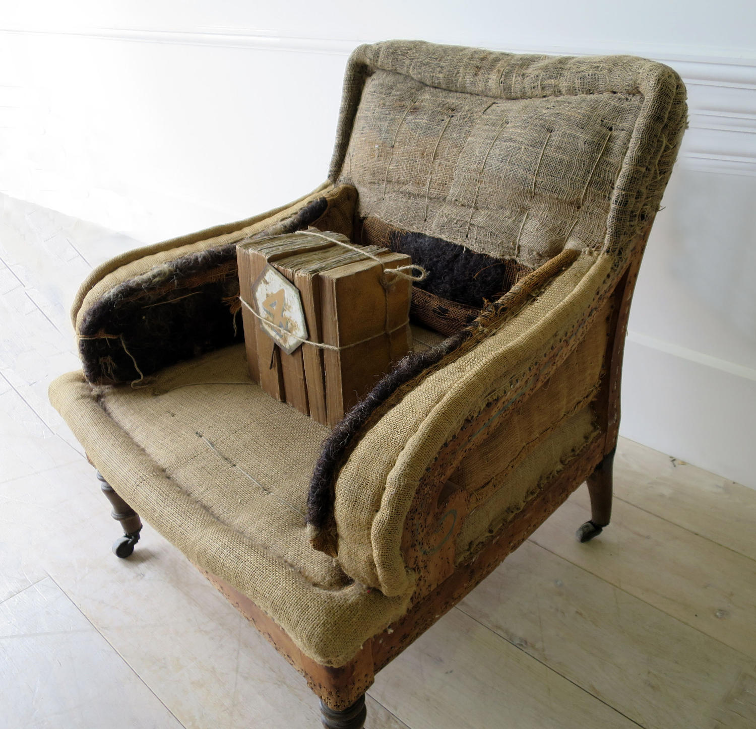 Single French 19th c Armchair