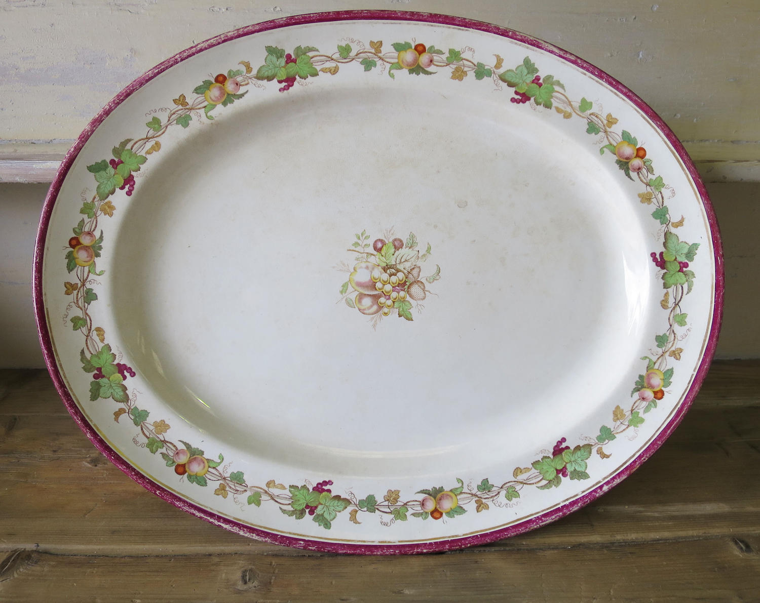 Large 19th century French Servery Plate - Circa 1850