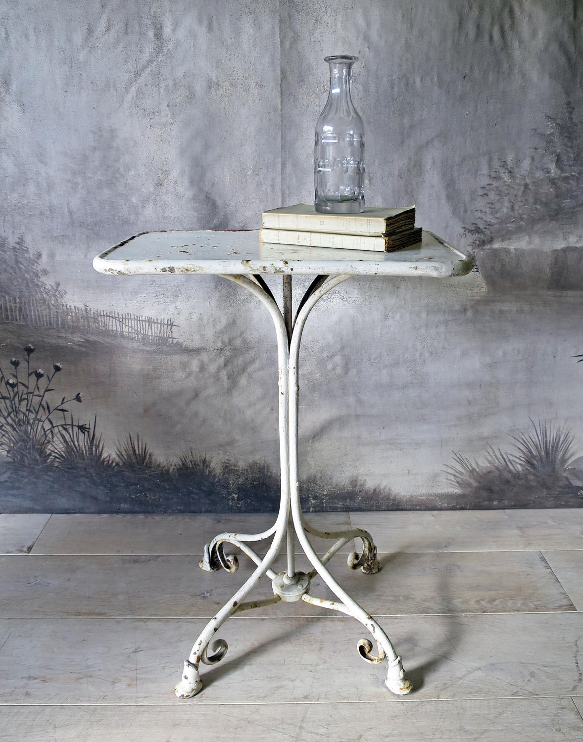 Pretty French Iron Table from Arras circa 1890