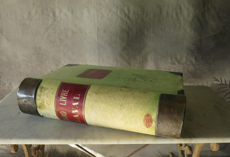Huge 19th c French Ledger - Le Grand Livre!